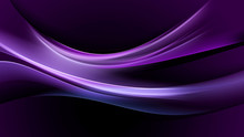 Abstraction Purple Light Wave Background