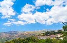 Rural Landscape, Aullene Village, Corsica, France