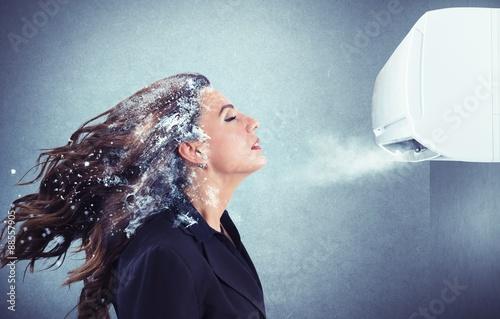 Valokuva  Powerful air conditioner