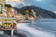 Tramonto Camogli Liguria Itali...