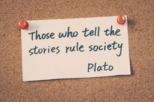 Those Who Tell The Stories Rul...