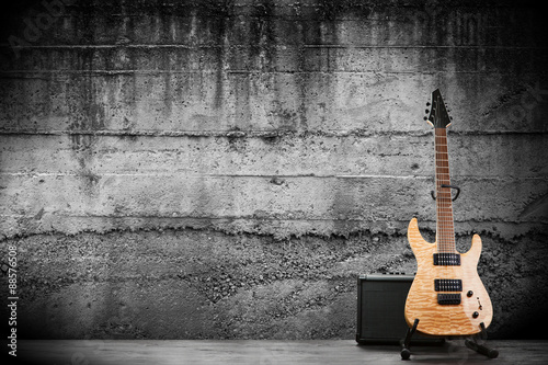 Modern electric guitar #88576508