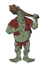 Troll/A Gigantic Troll With A ...