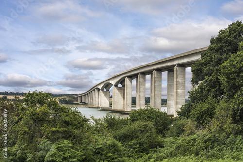 Stampa su Tela Orwell Bridge Suffolk