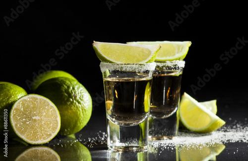Tequila Schüsse Fototapete