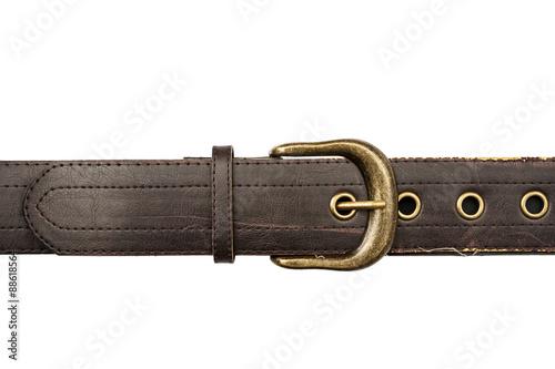 Valokuvatapetti Brown leather belt