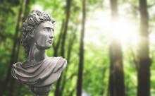 Busto Statua Greco Romana
