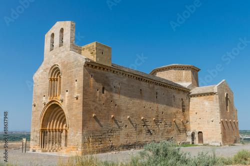 Ermita de Santa María de Chalamera en Aragón Wallpaper Mural