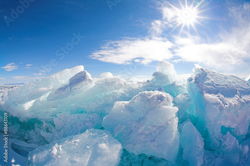 Foto op Plexiglas Arctica winter baikal