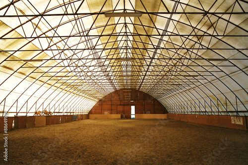 Foto op Plexiglas Stadion Riding hall and equestrian center for trainings and events