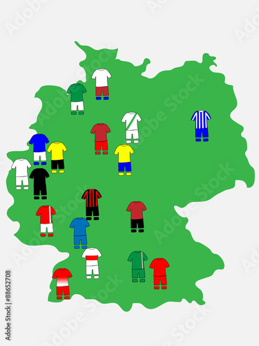 German League Clubs Map 2013 14 Bundesliga Buy This Stock Vector And Explore Similar Vectors At Adobe Stock Adobe Stock