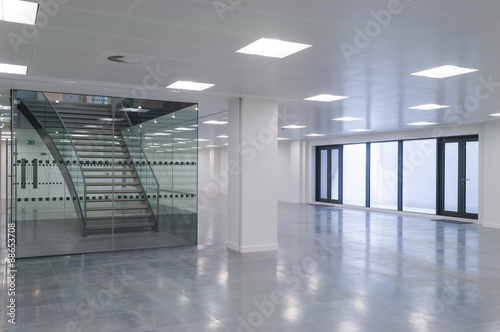 Fotografie, Obraz  Office stairs