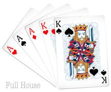 Poker Cards Full House