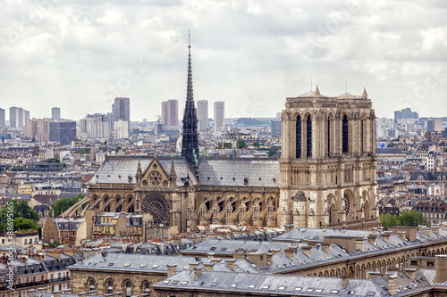 Fotografia  Notre Dame in Paris