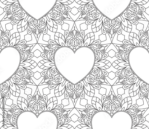 rich-decorated-calligraphic-outlined-stroke-monochrome-seamless