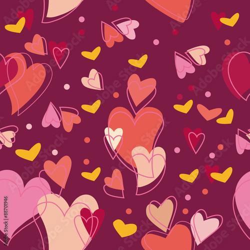 tekstura-z-motywem-serc