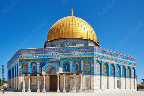 Fotografie, Obraz Dome of the Rock mosque in Jerusalem