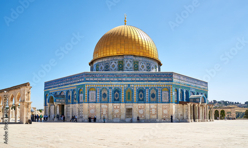 Photo Dome of the Rock mosque in Jerusalem