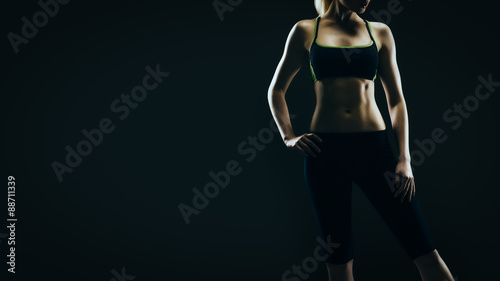 Fotografía  Woman's fit silhouette