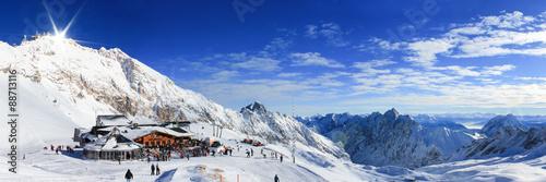zugspitze-najwyzszy-szczyt-gorski-w-niemczech-zima