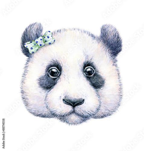panda-na-bialym-tle-rysunek-akwareli-ilustracja-dla-dzieci-praca-reczna