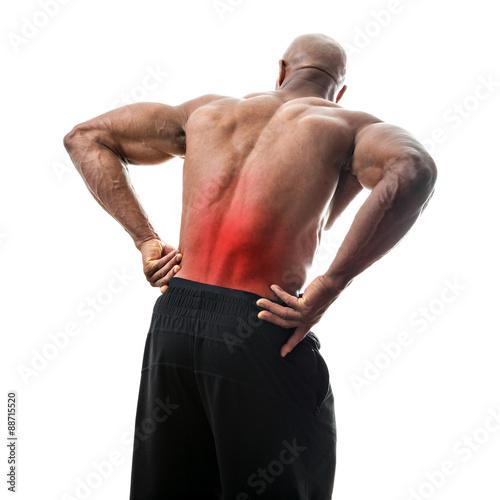 Fotografie, Obraz  Lower Back Pain