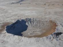 Arizona Meteor Crater Aerial V...
