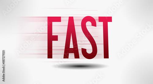 Fotografie, Obraz  Fast - Background