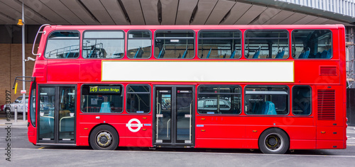 Foto op Plexiglas Londen rode bus London Bus