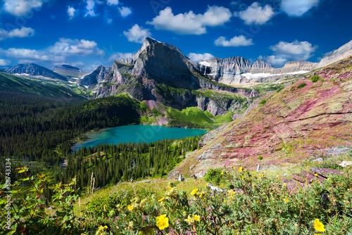 Valokuva  Grinnell Glacier Trail