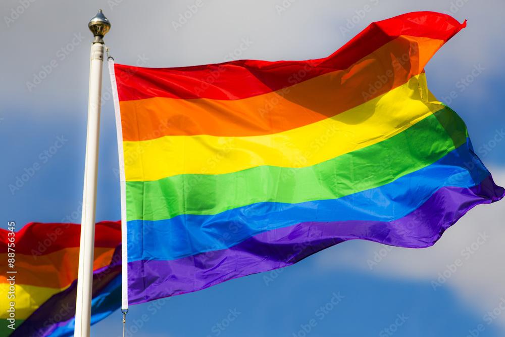Fotografía  Rainbow Flag