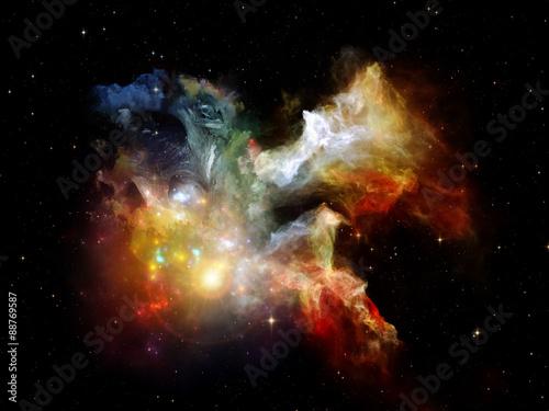Fototapeta Visualization of Dream Space obraz na płótnie