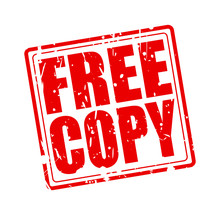 Free Copy Red Stamp Text
