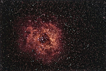 Rosette Nebula beautiful night sky The Rose of Night Sky