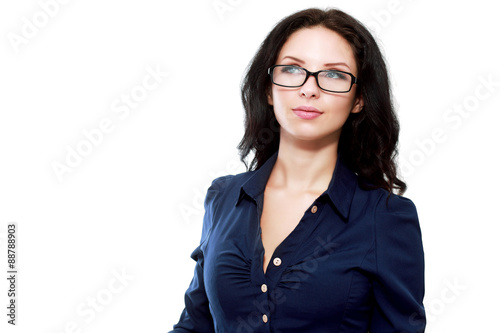 Fototapety, obrazy: Thoughtful business woman