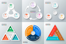 Vector Circle Elements Set For...