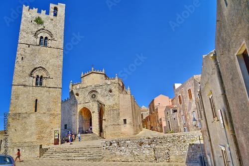 Fotografie, Obraz  Erice, provincia di trapani, sicilia