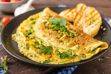 Herb Omelette With Chives And ...