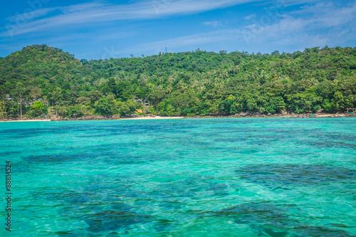 Foto op Canvas Eiland Phi phi island in andaman sea, Phuket, Krabi, Thailand