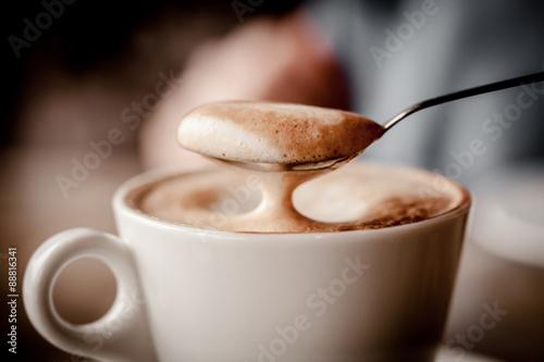 Fotografie, Obraz  Cup of Cappuccino Coffee