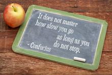 Confucius Quote On Persistence