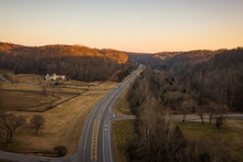 Winding Road In Tennessee