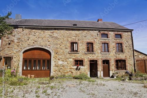 maison ardennaise (Belgique) – kaufen Sie dieses Foto und finden Sie ...
