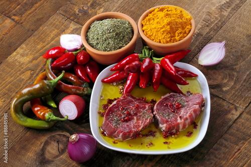 Filetto di bovino con spezie