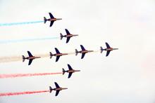 Close Formation At Airshow