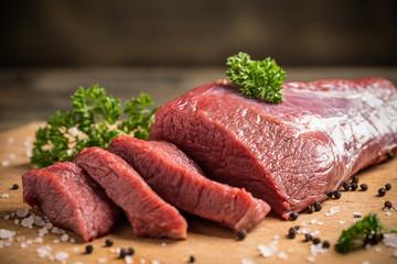 Panel Szklany Potrawy i napoje Beef slice