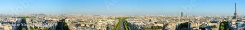 Papiers peints Paris cityscape of paris by the sunset