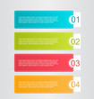 Infographics template for business, education, web design, banners, brochures, flyers. Vector illustration.
