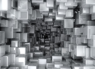 abstract background - 3D Cubes
