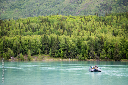 Photo Stands Water Motor sports Fishing trip in Alaska, USA